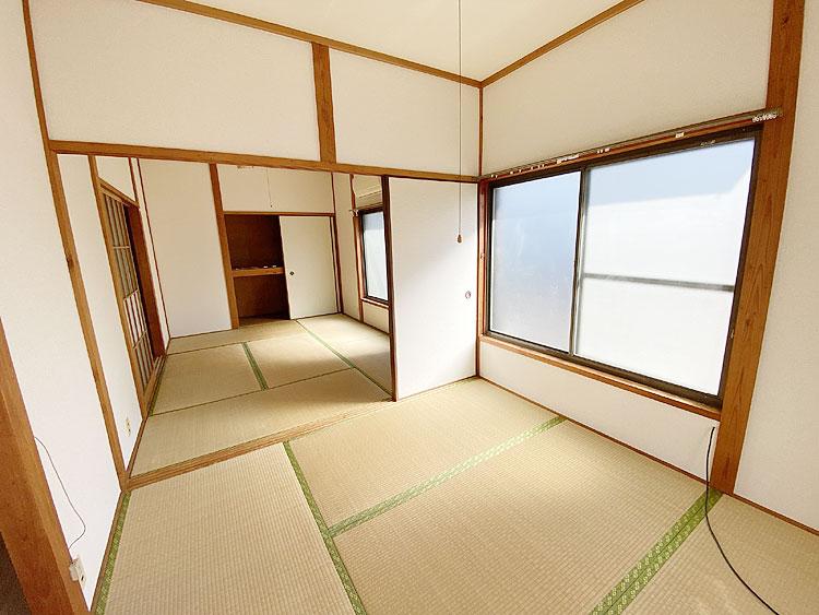 和室4.5畳と6畳 二間続き(居間)